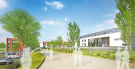 "Artists impression of the Sevenoaks ""annexe"""