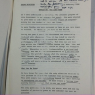 Letwin's note to Mrs Thatcher