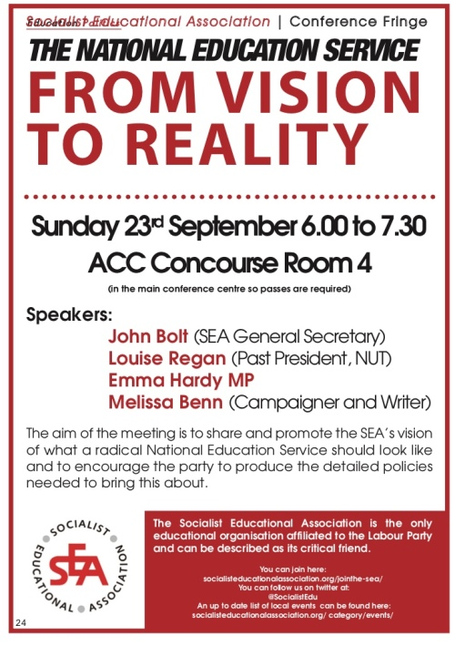 SEA Labour Party Conference fringe